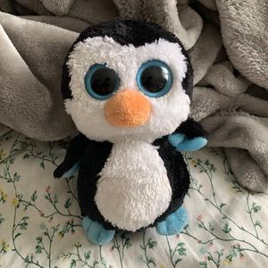 Ty Beanie Boos Waddles the Penguin Plush